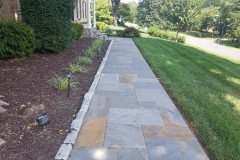 flagstone-walkway-with-stone-border